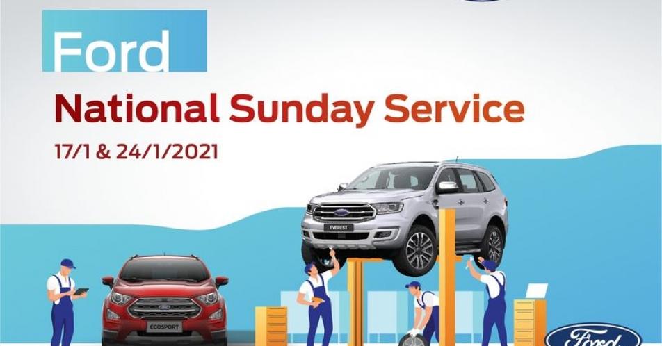 SUNDAY SERVICE - DỊCH VỤ NGÀY CHỦ NHẬT 07/02/2020 TẠI ĐÀ LẠT FORD