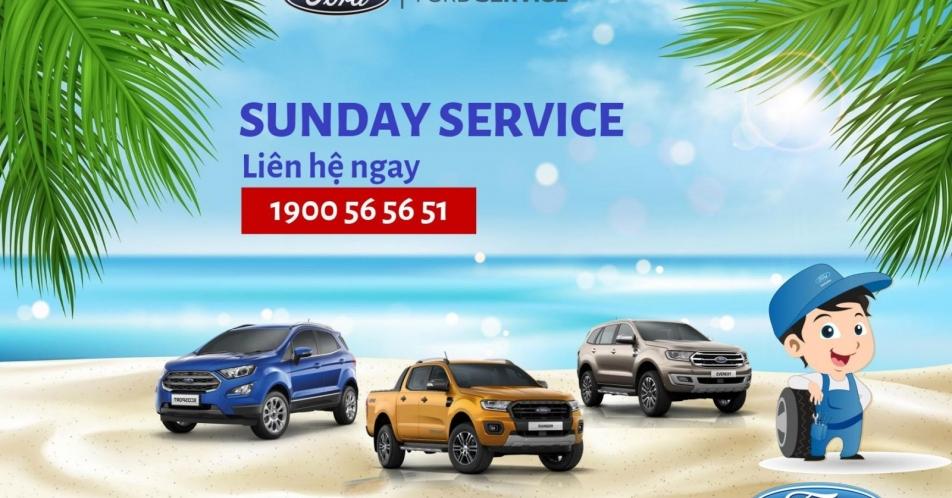 CHƯƠNG TRÌNH SUNDAY SERVICE - CHỦ NHẬT DỊCH VỤ 19&26;/07/2020